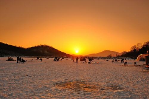강화도 빙어 송어 축제