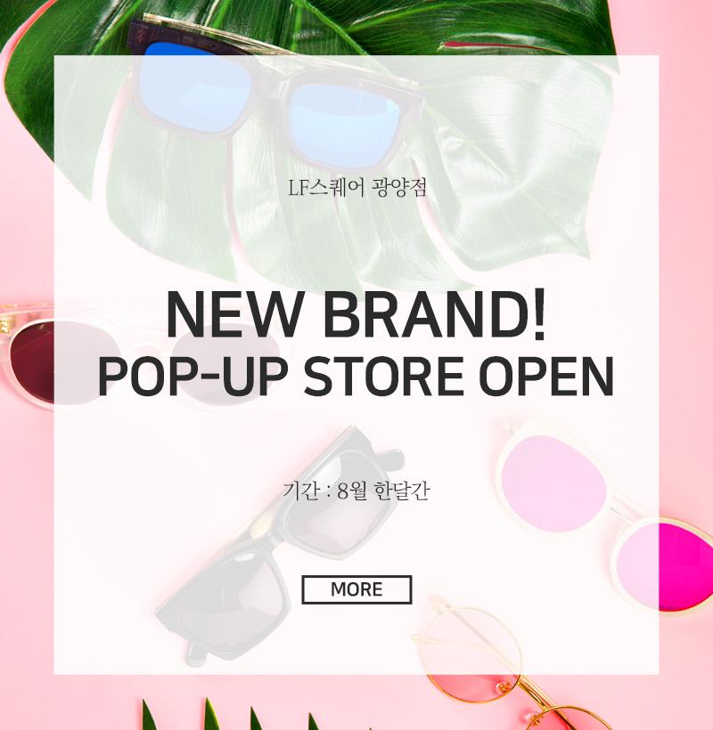 NEW BRAND! POP-UP STORE OPEN